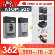Vaxis ATOM 500 HDMI 1080P transmisión para cámara Ipad imagen inalámbrica Video HD transmisor receptor VS Hollyland mars 400S sdi