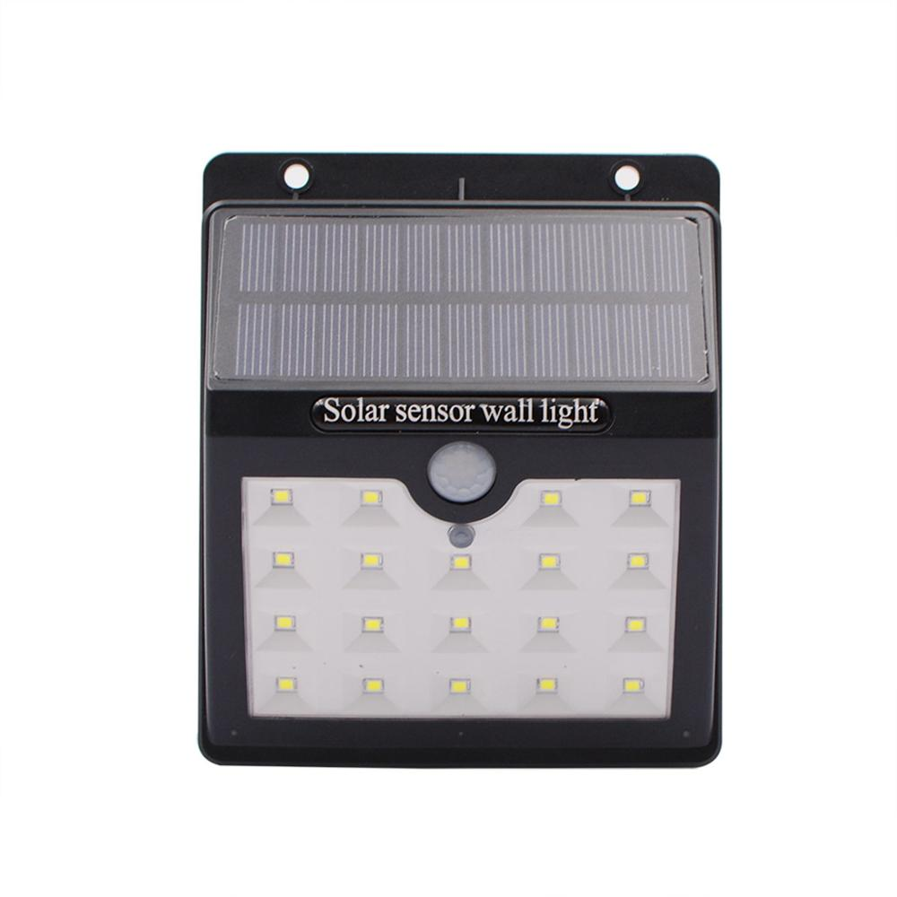 Solar Sensor Motion Light 19LED Security Lamp Waterproof Porch Light For Outdoor Home Garden Wall Easy To Install Solar Lights