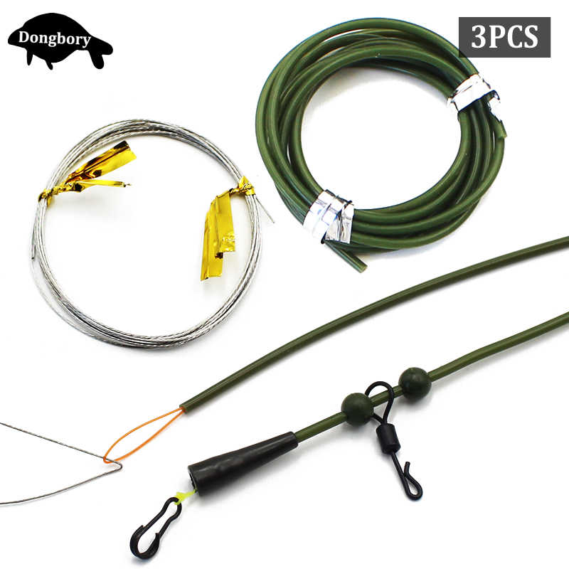 Carp fishing safety rig complete with amnesia hook length /& no tangle tube