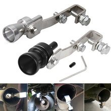 dropshipping Universal Turbo Sound Whistle Muffler Exhaust Pipe Simulator Whistler For Toyota OE88