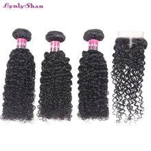 Человеческие волосы lynlyshan малазийские кудрявые волнистпряди