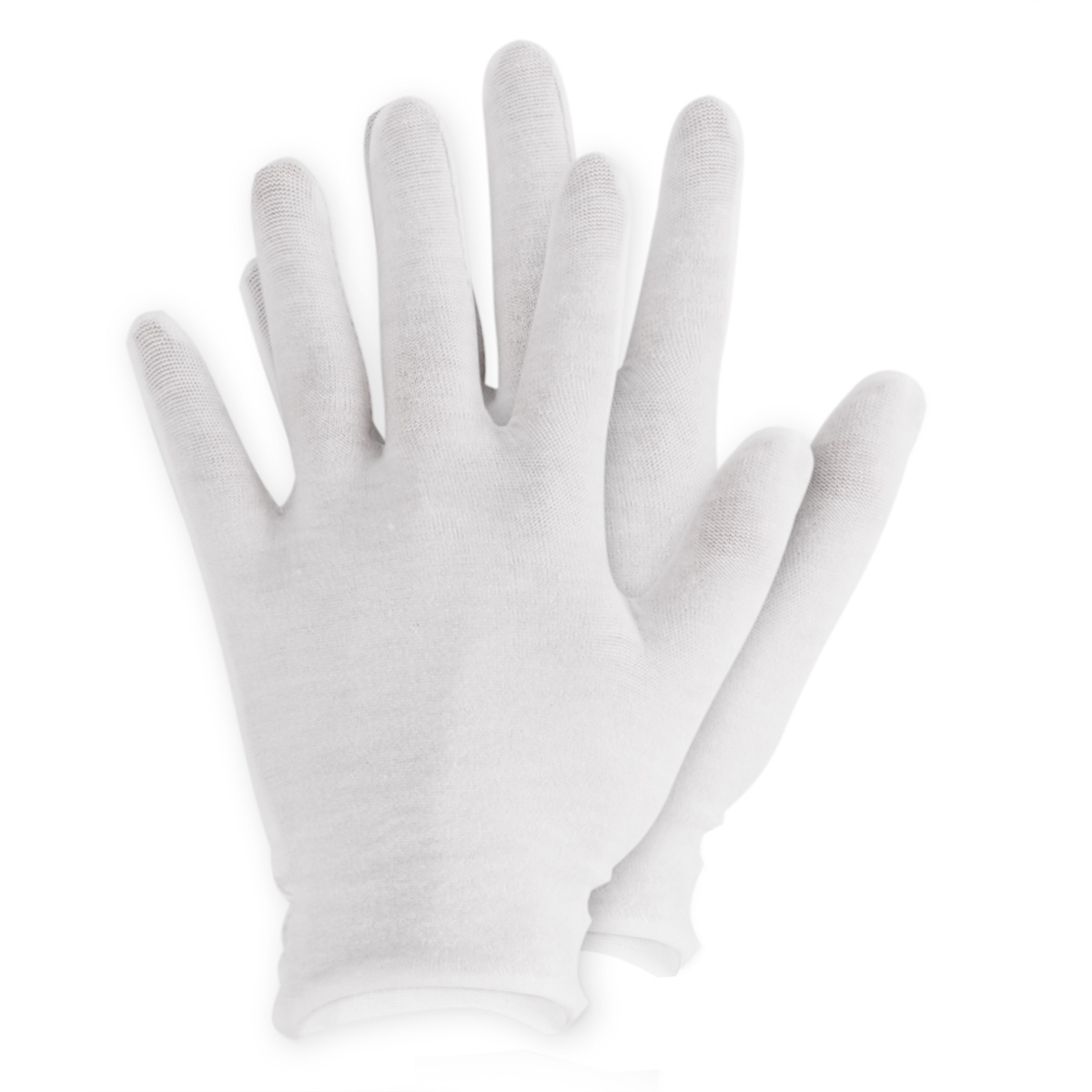 Extra Large Size Cotton Gloves,6 Pairs White Cotton Gloves Cloth Serving Gloves for Eczema Moisturizing Dry Hands Coin Jewelry Silver Archival Costume Inspection