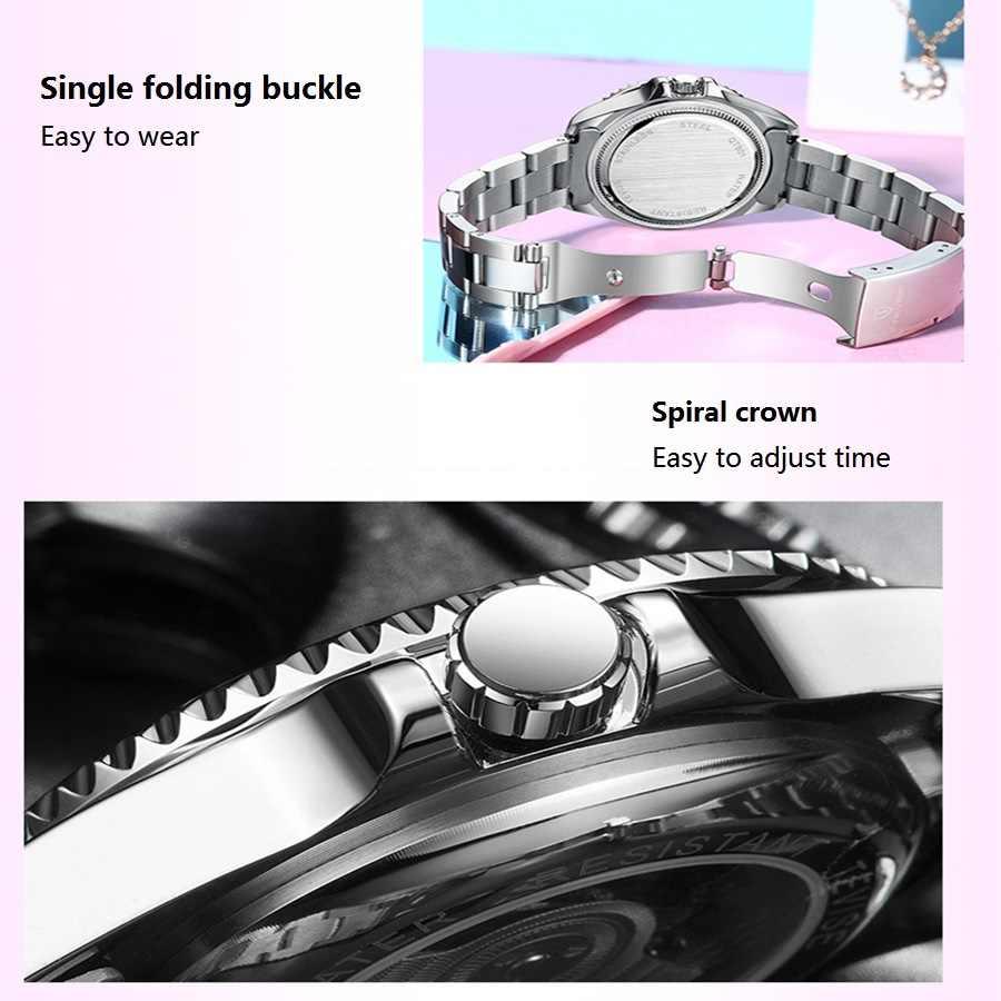 TEVISE Vermelho Mulheres Pulseira Relógios Senhoras de Aço Inoxidável Relógios de Quartzo relógio de Pulso À Prova D' Água Para A Mulher Casual Assista reloj mujer 2019
