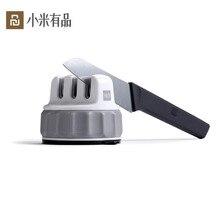 Mijia Youpin Huohou Mini ostrzałka do noży jedną ręką do ostrzenia bardzo duża siła ssąca ostrzałka kuchenna narzędzie