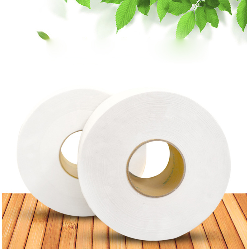 1pcs White Wood Pulp Toilet Tissue Household Toliet Paper Coreless Rolling Paper Soft Toilet Paper Skin-friendly Paper Towels