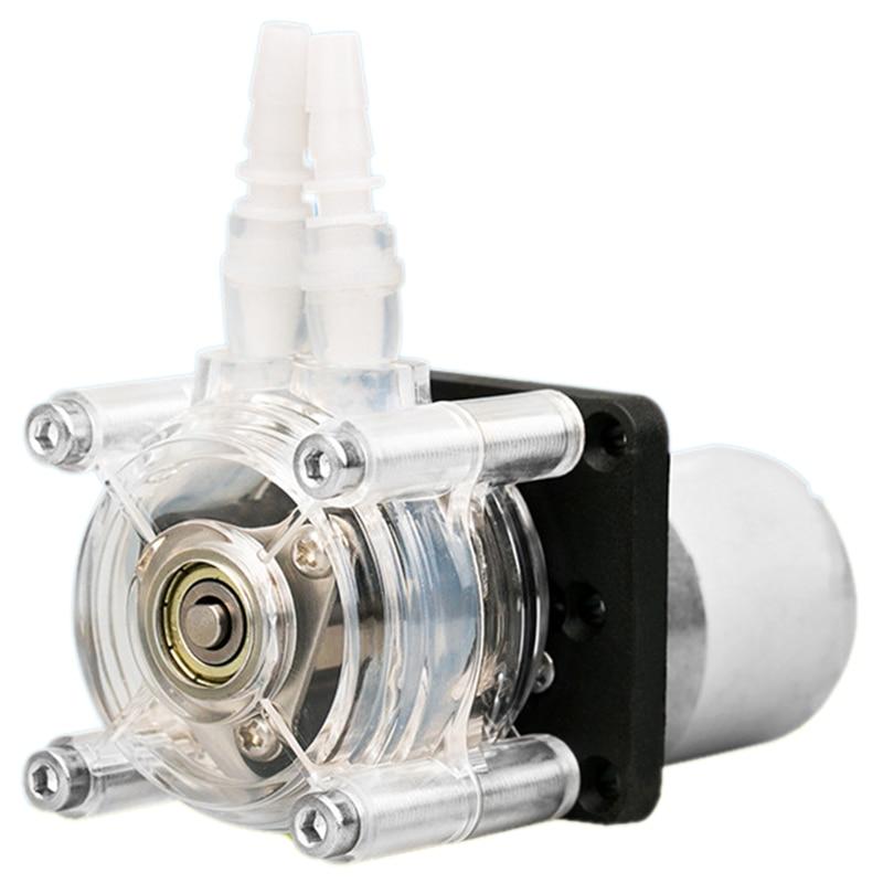 US Stock DC 12V Peristaltic Pump Metering Pump For Aquarium Lab Analytical Tools