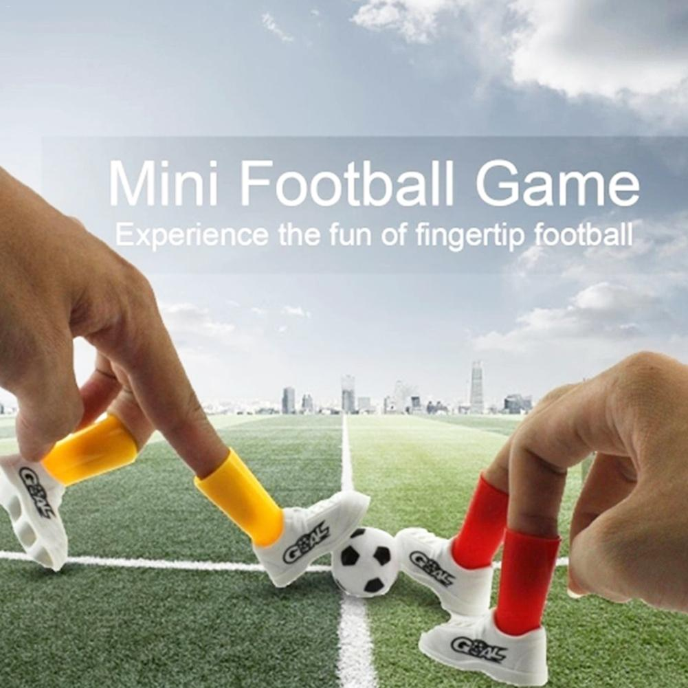 Mini Soccer Game Finger Toy Football Match Funny Table Game Set With Two Goals Interact Board Game