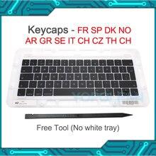 Teclado español y francés A1706 A1707, tapa para llave para Macbook Pro, Retina de 13