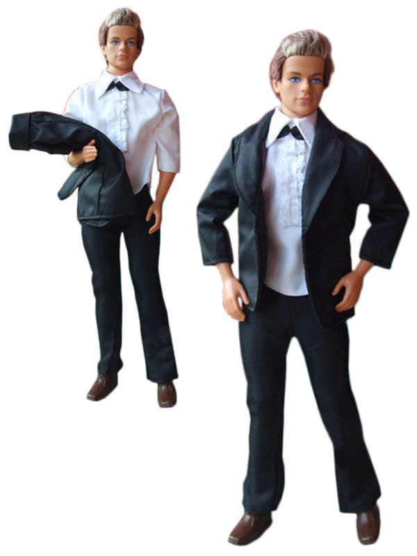 1 ensemble poupée vêtements tenue pour 12 pouces Ken poupée beaucoup de Style pour le choix A02
