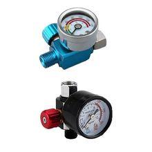 цена на Pneumatic Airbrush Air Pressure Gauge 0-140 PSI Oil Water Trap Filter Separator G8TB