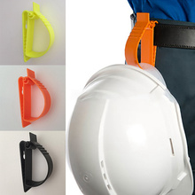 Labor Protection Clamp Working Clips Helmet Clips Multifunctional Clamp Safety Helmet POM Clamp Earmuffs Clamp Key Chains Clips
