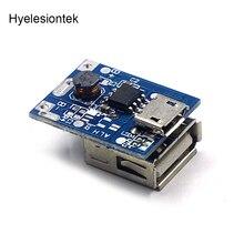 Lityum pil modülü koruma Li ion şarj cihazı 134N3P güç dönüştürücü düzenli voltaj 5V 1A Step Up şarj kurulu mikro USB