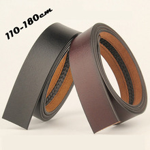 Long-Belt Genuine-Leather Body-No-Buckle Plus-Size Automatic 110 120 130 140 150-160