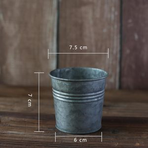 Image 5 - Retro Round Small Iron Cup Vintage Series Food Photography Props