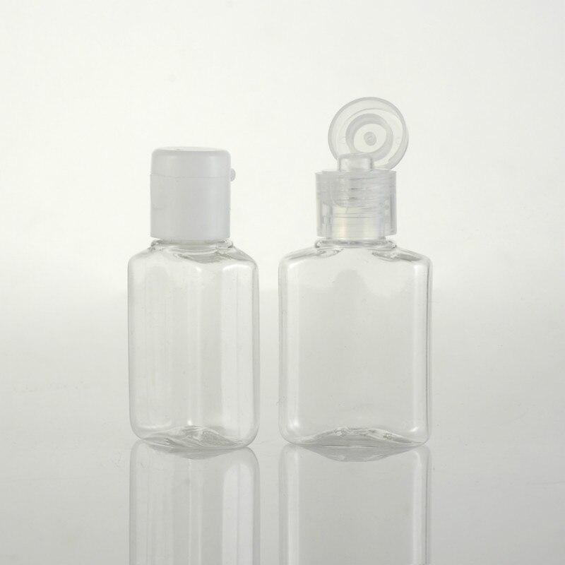 20ml Plastic Bottle Empty Hand Sanitizer Bottle Refillable Shampoo Bottle  Lotion Bottle 50 Pcs/lot P258