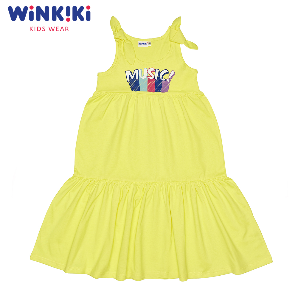 Dresses WINKIKI WJG91402 children's dress clothes for girls sundress Cotton  Casual dresses modis m181w00768 women dress cotton clothes apparel casual for female tmallfs