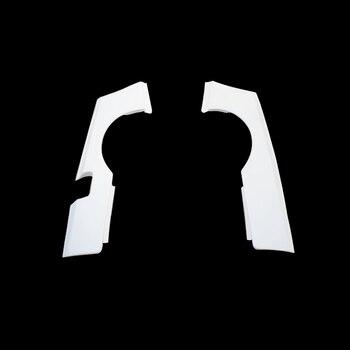 Car-styling GTR Style Fiberglass Rear Wider Fender FRP Fiber Glass Wheel Arch Flare Cover Kit Trim For Nissan Skyline R34 GTT