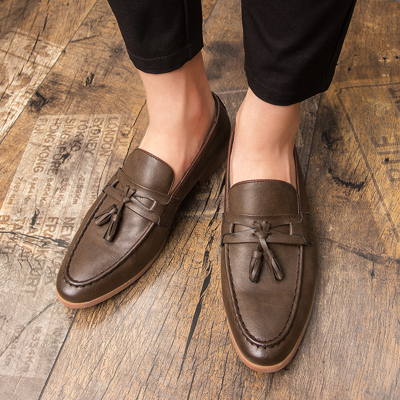 Hd43b815093d344f68603f99d5347c3c7l Summer Outdoor light soft Leather Men Shoes Loafers Slip On Comfortable Moccasins Flats Casual Boat Driving shoes size 38-47