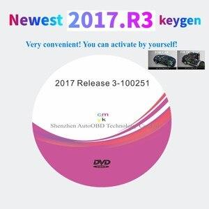 Image 1 - Neueste 2017.R3 mit keygen auf DVD software Unterstützung ISS Funktionen für delphis vd ds150e cdp vdIJk Autocoms pro für auto lkw