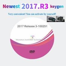 Nieuwste 2017.R3 Met Keygen Op Dvd Software Ondersteuning Iss Functies Voor Delphis Vd Ds150e Cdp Vdijk Autocoms Pro Voor Auto Vrachtwagen