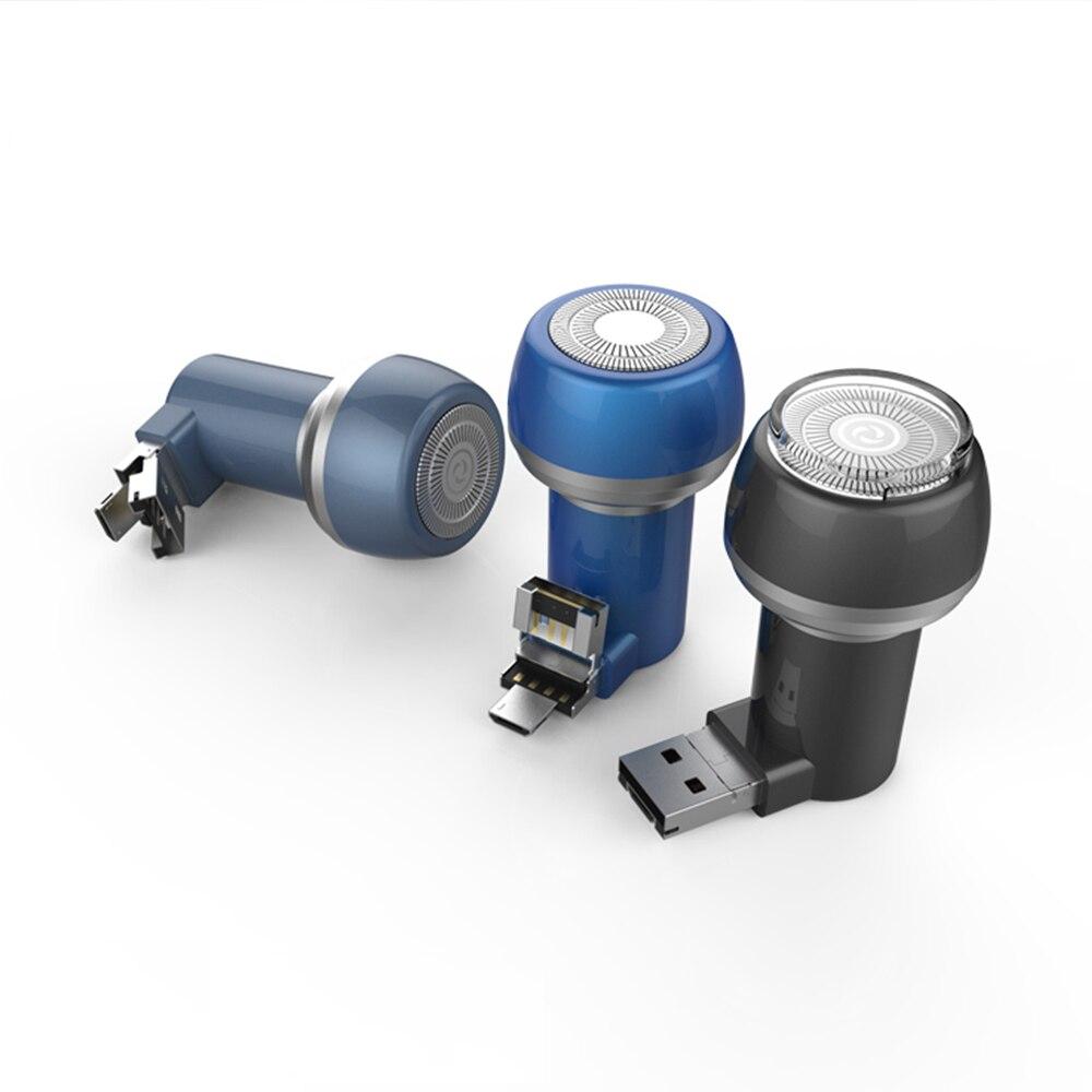 Электробритва для мобильного телефона USB мини электробритва для Android и IOS мобильный телефон мужские электробритвы с коробкой HIAISB