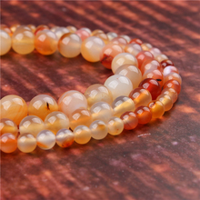 Fashion jewelry 4/6/8/10/12mm Candy Agate, suitable for making jewelry DIY bracelet necklace