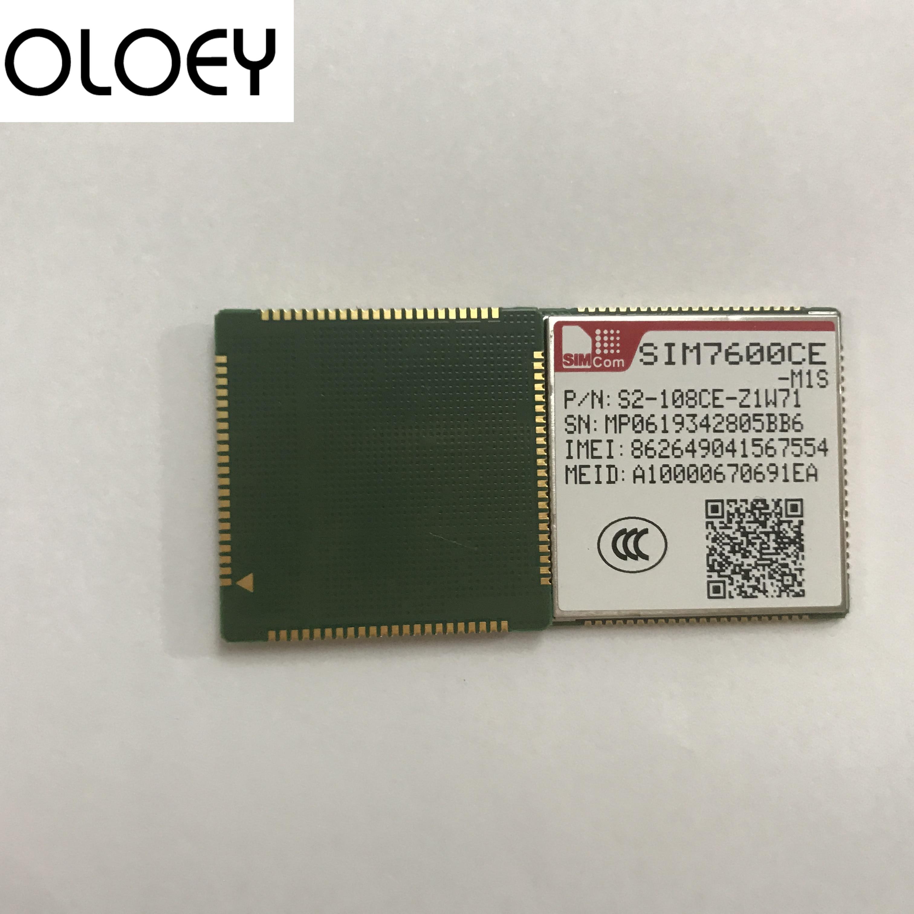 SIMcom SIM7600CE-M1S LCC  4G Modules Lte Module, GPS+ Lte Module, 100% Brand New Original