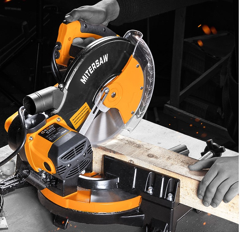 10 Inch 255mm Multifunctional Saw Aluminum Machine Woodworking Aluminum Cutting Machine 45 Degree Miter Saw Aluminum Machine
