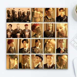 18Pcs/Box KPOP ATEEZ Album The Collection HD Photo Card PVC Cards Self Made LOMO Card Photocard(China)