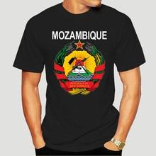 Moçambique brasão de armas design nacional t camisa de algodão normal malha hiphop topo tshirt para homem hilarious primavera great 0891x