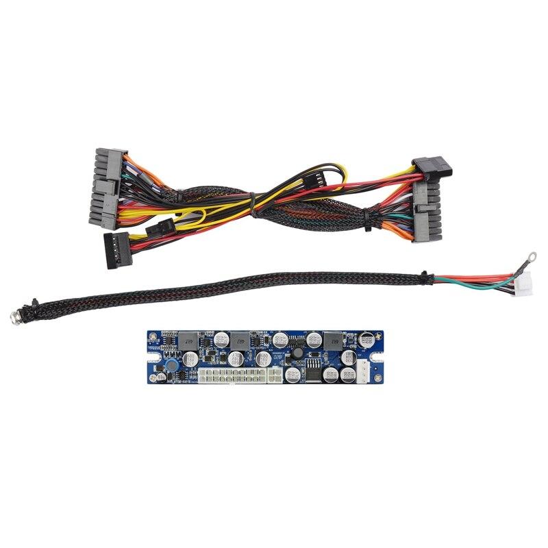 Dc Atx Peak Psu 19V 200W Pico Switch Mining 24Pin Mini Itx To Pc Power Supply for Ssd Computer