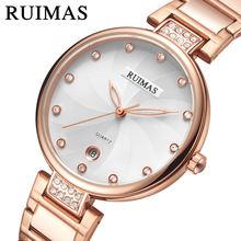 Женские часы с календарем anke store Роскошные простые модные