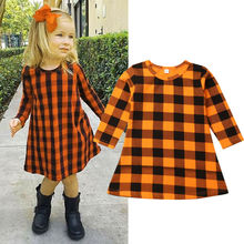 2019 Baby Spring Autumn Clothing Toddler Kids Pageant Princess Dress
