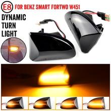 Năng Động Fender Bên Cột Mốc Cho Thông Minh Fortwo W451 Coupe Cabrio LED Tín Hiệu Đèn LED