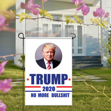 Aerxemrbrae Flag Donald Trump Garden America Great Again For 2020 President USA 30*45cm Home Decoration@