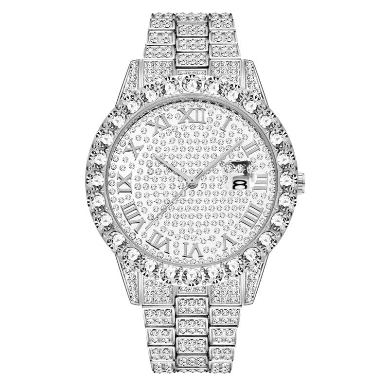 shining large diamonds watch for men hip hop iced out mens quartz watches waterproof auto date business male clock drop shipping relogio masculino reloj hombre zegarek meski (25)