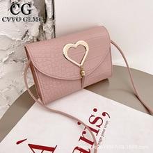 Cvvo Purses And Handbags For girls  Designer Bag for Women Cute Side Fashionable Purses Satchels Women's Bag PU Lipstick bag