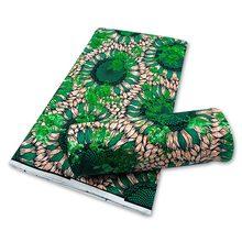 2021 Beste Kwaliteit 100% Katoen Afrikaanse Sequinse Ankara Wax Stoffen Zachte Prints Materialen 6Yards Tissu Naaien Voor Dame Jurk dragen