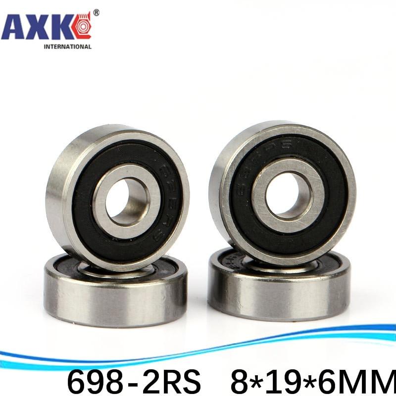 5Pcs Deep Groove Mni Ball Bearings 698ZZ 698-2Z 619//8 8*19*6mm Bearing Steel