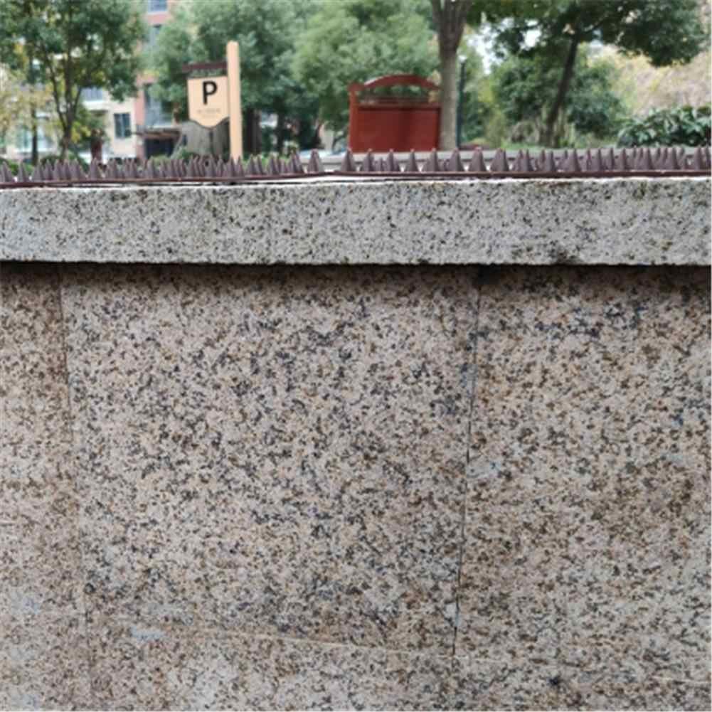 5 개/대 무해한 플라스틱 수비수 조류 스파이크 고양이 개 가시 플라스틱 손톱 안티-등반 울타리 보안 벽 창 난간