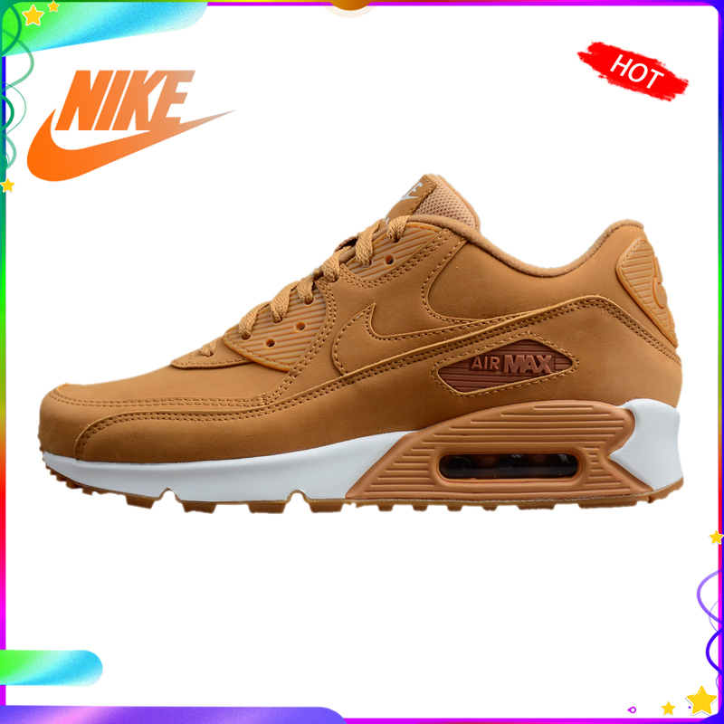 Original Authentic Nike AIR MAX 90 Men's Light Running Shoes Breathable Sneakers Outdoor Walking Jogging Sneakers 881105-200