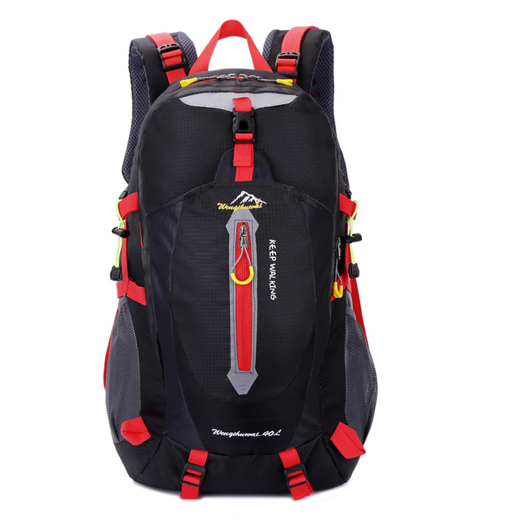 Outdoor Mountaineering Bag Light Hiking Travel Bag Casual Shoulder Travel Backpack Waterproof Nylon Sports Backpack