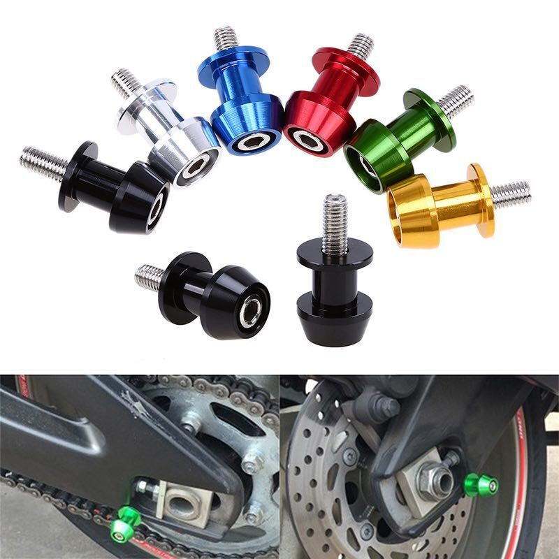 Motorcycle Sports Car CNC Newcomer Car Screw 8MM 10 Size Up Support Screw Aluminium Alloy Screw For Motorbike Parking Lift