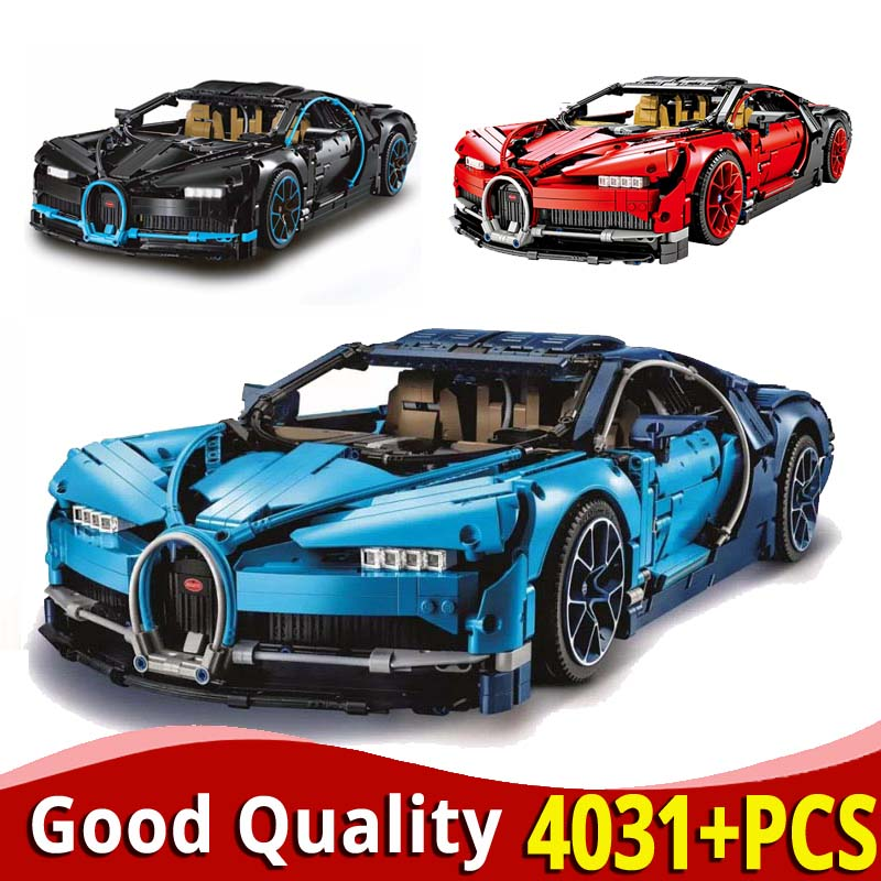 Compatible with <font><b>Legoinglys</b></font> technic bugattiing chironinglys <font><b>42083</b></font> 20086 Building Blocks bricks car toys for children christmas image