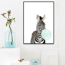 New Baby Animal Koala Zebra Girafe Canvas Poster Nursery Wall Art Print Painting Nordic Picture Children Bedroom Decoration(China)