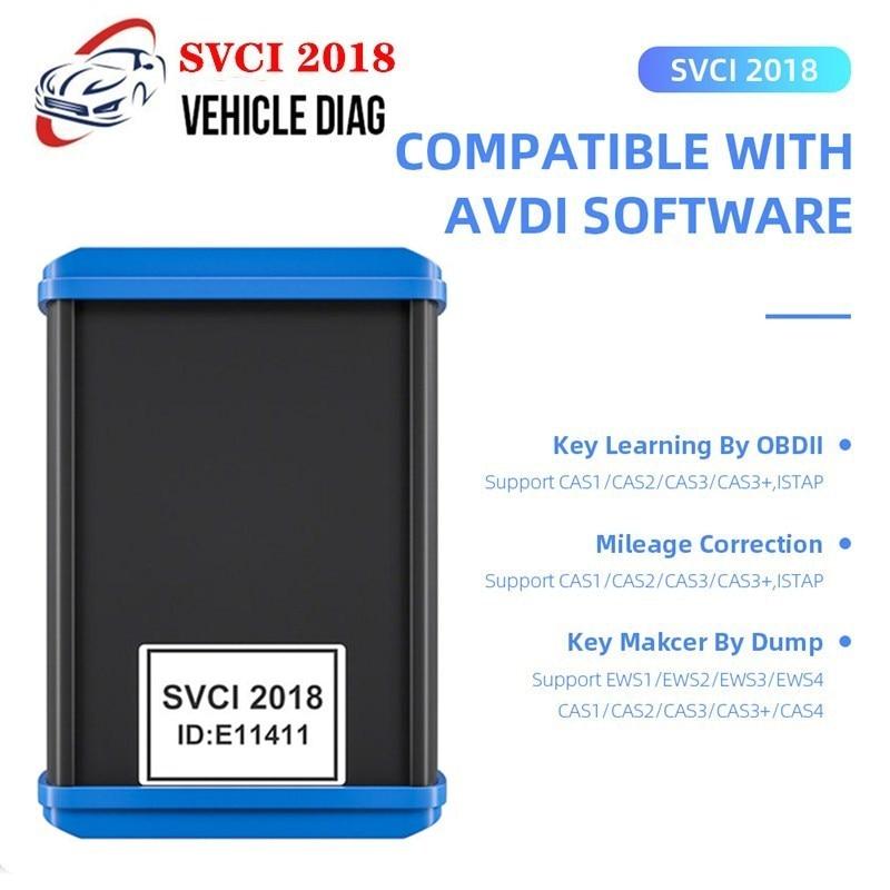 Hot SVCI FVDI 2018 ABRITES Commander Key Programmer Full Version 18 Software of VVDI2 No Limited