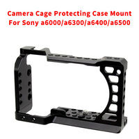 CNC Aluminum Camera Cage for SONY a6500/a6000/a6300/a6400/a6500 DLSR Protecting Case Mount Expansion Cover Quick Rease Plate Kit