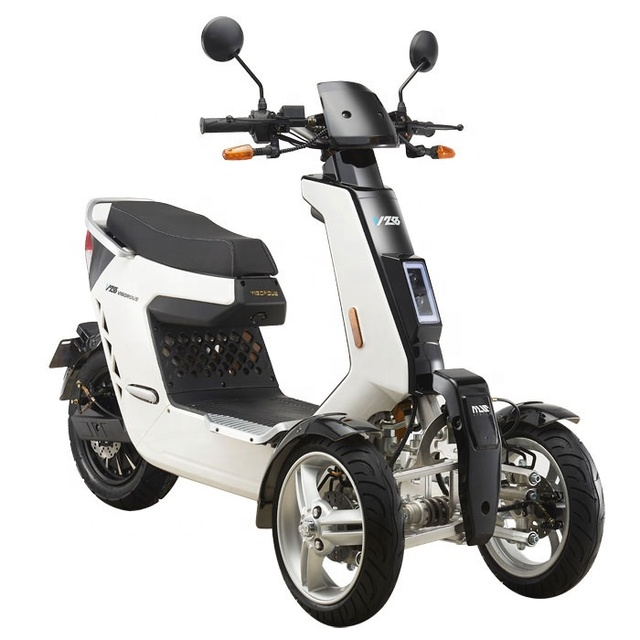 EEC Approved Street Legal 3 Wheels Front 2 Wheels Type Electric Motorcycle 3000W 72V40AH Electric Mobility Scooter Off Road 3