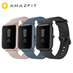 (Plaza)Global Version Amazfit Bip Lite Smart Watch 45-Day Battery Life 3ATM Water-resistance Activity and sports tracking