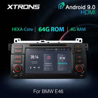 XTRONS PX6 Android 9.0 64G Car Stereo DVD Radio Player GPS for BMW E46 Sedan 1998-2000 2001 2002 2003 2004 2005 For Rover For MG